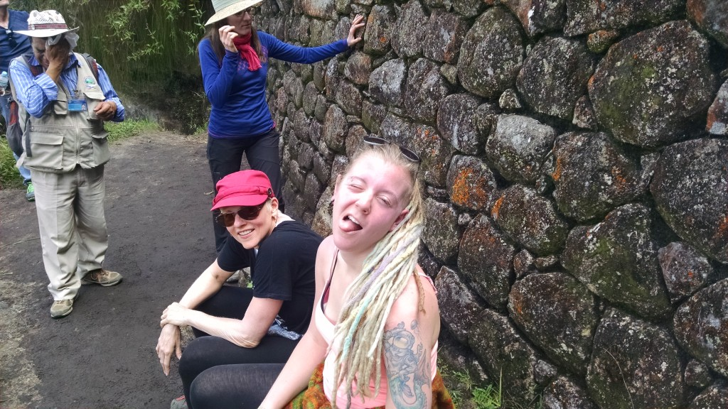 Tiring climb up Huayna Picchu