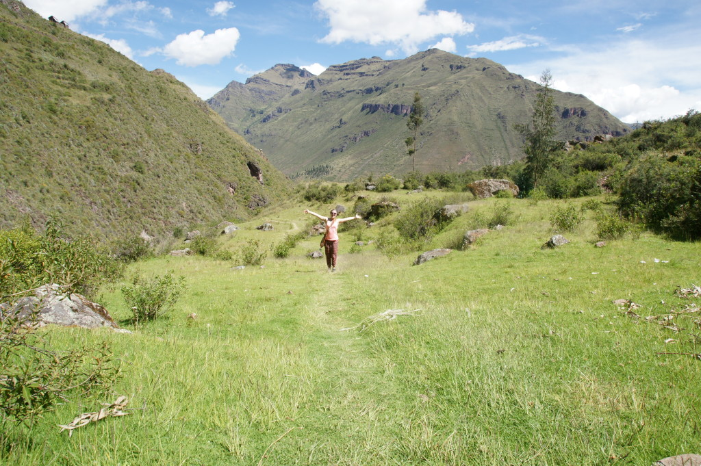 Hiking in Pisac