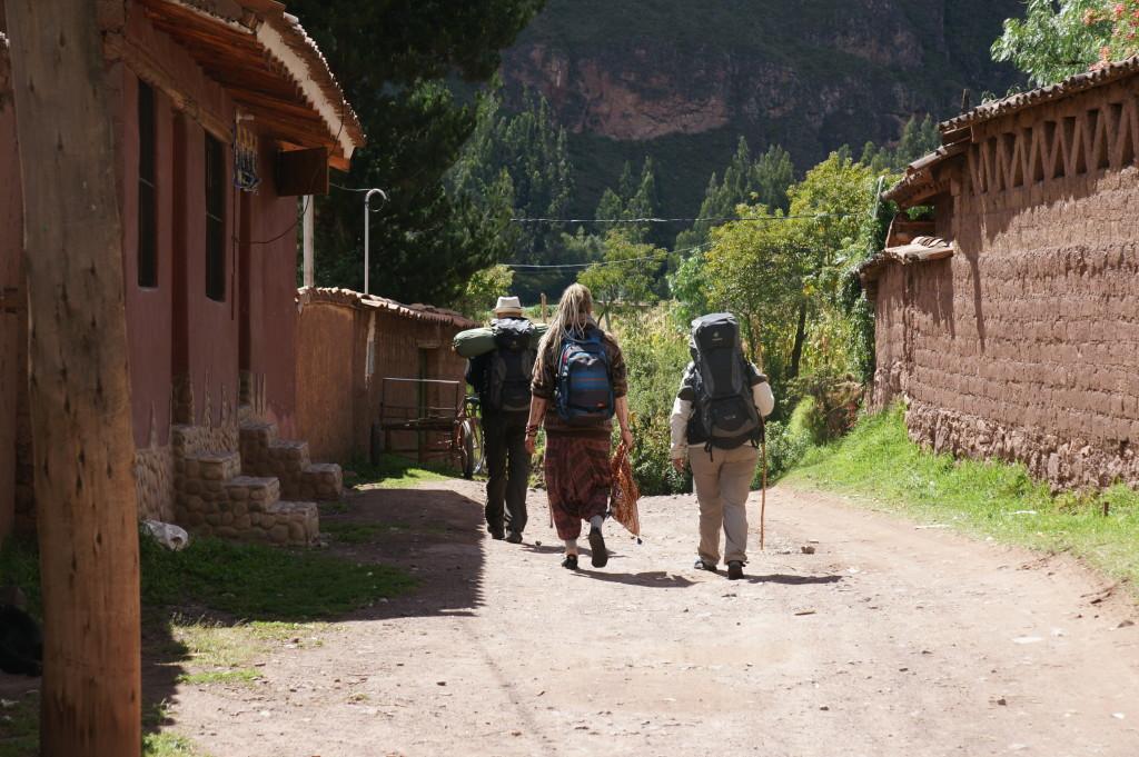 Leaving Pisac