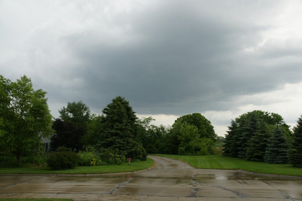 Stormy Ohio skies...though not quite funnel cloud-grade.