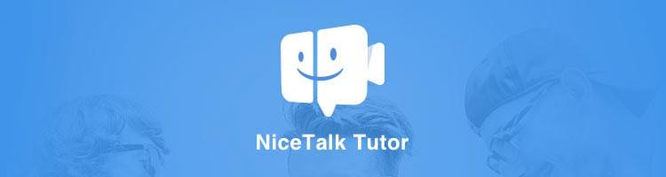 Nicetalk Tutor App