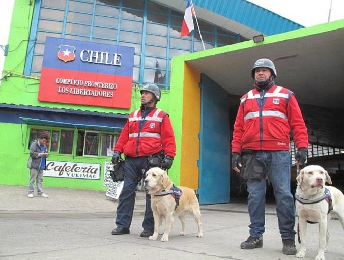 Los libertadores border crossing